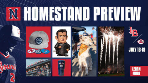 Highlights Include Tail Waggin' Tuesday, Giveaways, and a Friday Fireworks Show. (Nashville Sounds)