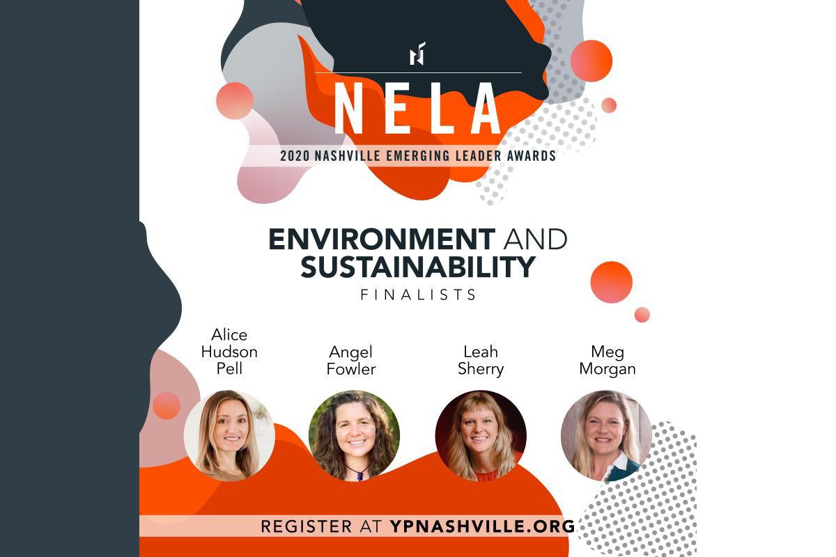 Nashville environment, sustainability award Finalists