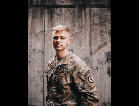 Sgt. Cole Lukens from the Tennessee Army National Guard's 208th Area Support Medical Company in Smyrna won the Army National Guard's Best Warrior Competition in Arizona on July 23 and is the 2021 Army National Guard Soldier of the Year. (1st Lt. Sarah Kohrt)