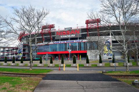 Nissan Stadium.
