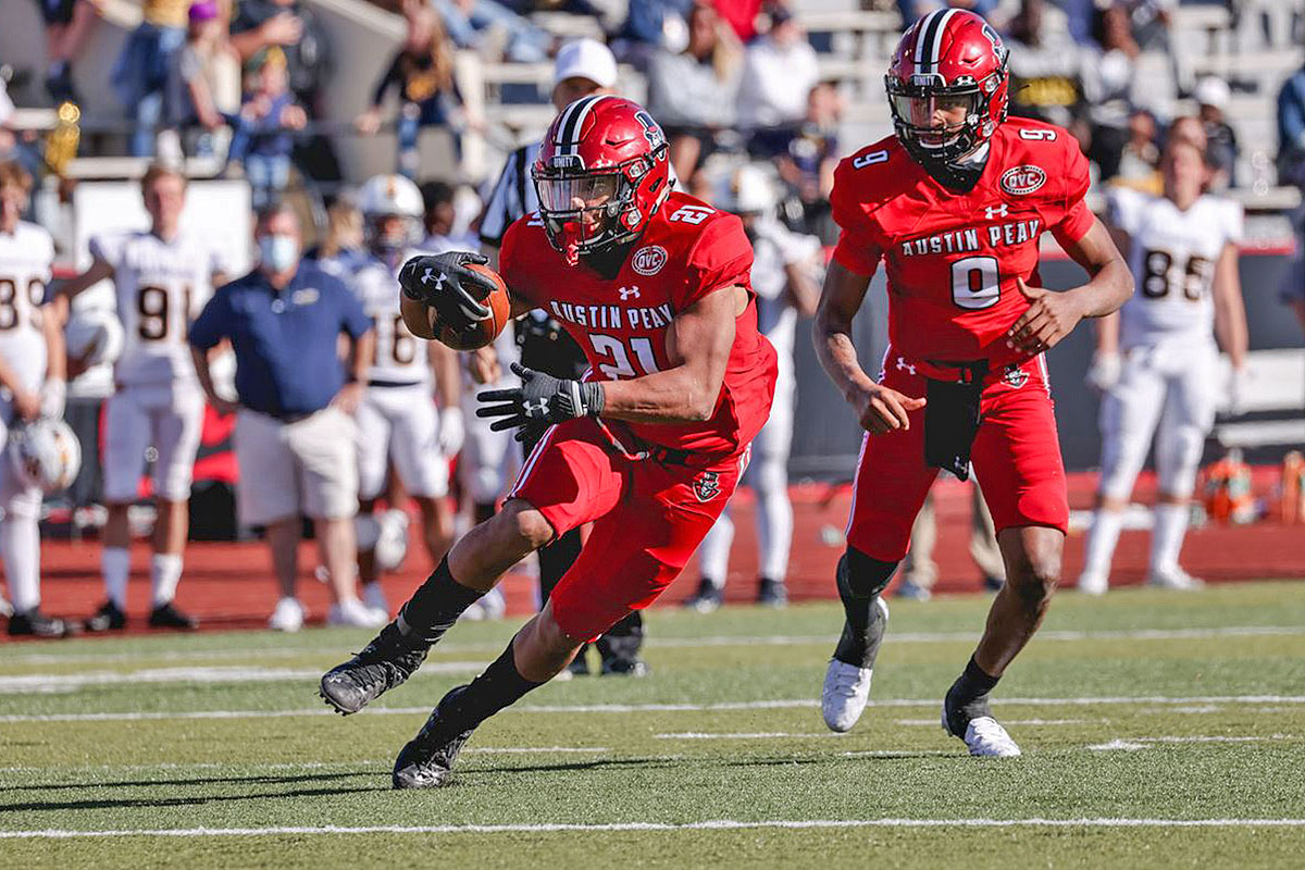 Austin Peay State University Football kicks off season with top-20 battle against Chattanooga Mocs on the road. (APSU Sports Information)