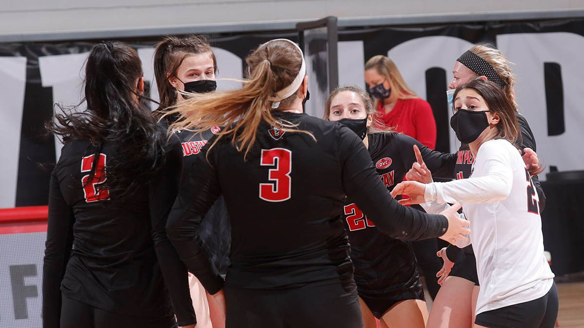 Austin Peay State University Women's Volleyball competes in the Marshall Invitational this weekend. (Robert Smith, APSU Sports Information)