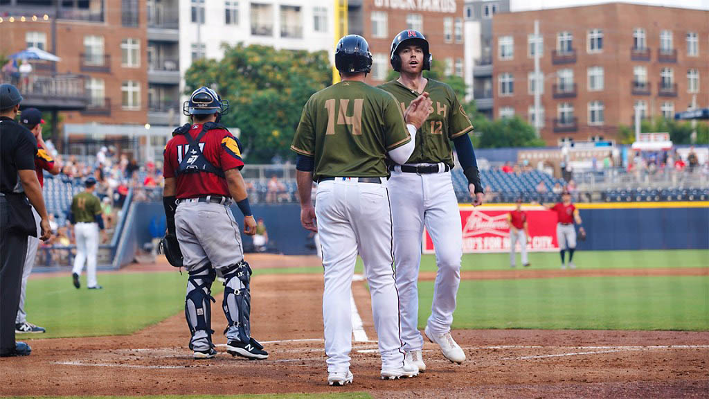Nashville Sounds' Eighth Inning Rally Closes 8-5 Homestand against Toledo Mud Hens. (Nashville Sounds)