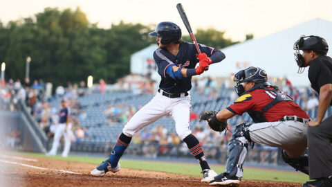 Brice Turang Hits His First Nashville Sounds Homer, Corey Ray Flirts with Cycle. (Nashville Sounds)