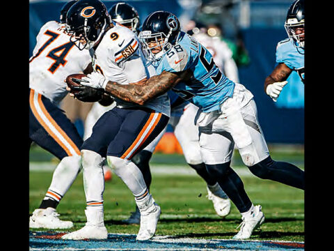 Tennessee Titans hose Chicago Bears at Nissan Stadium, Saturday. (Tennessee Titans)