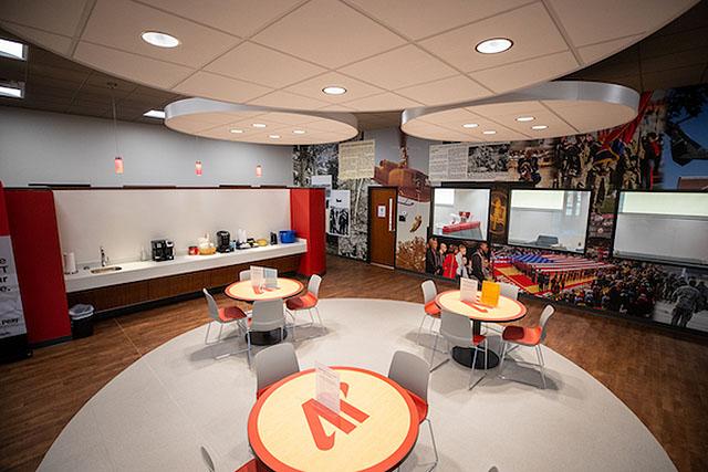 Inside the Austin Peay State University Newton Military Family Resource Center. (APSU)
