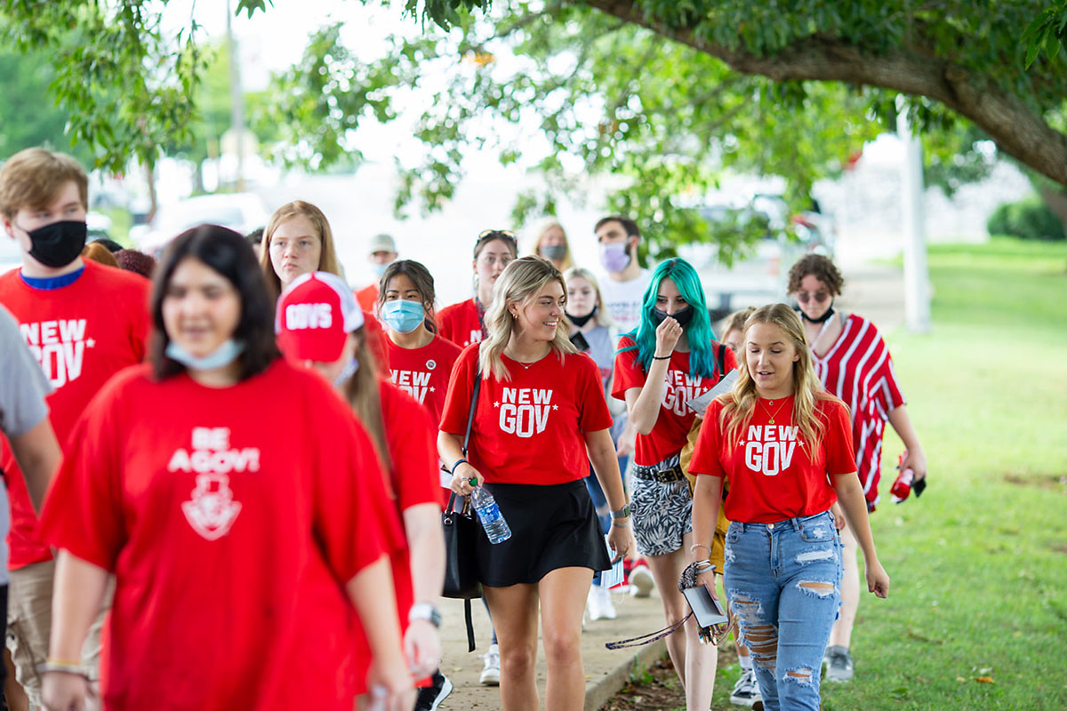 Austin Peay State University students began classes today. (APSU)