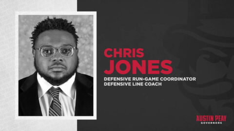 Austin Peay State University hires Chris Jones as assistant football coach. (APSU Sports Information)