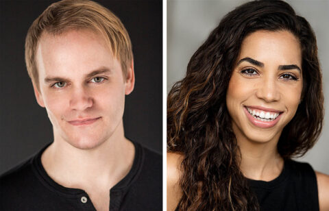 """""""All Shook Up"""" at the Roxy Regional Theatre stars Stephen Shore and Yarissa Tiara Millan, September 10th-24th."""