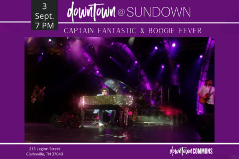 Captain Fantastic and Boogie Fever to play at Downtown @ Sundown this Friday at the Downtown Commons.