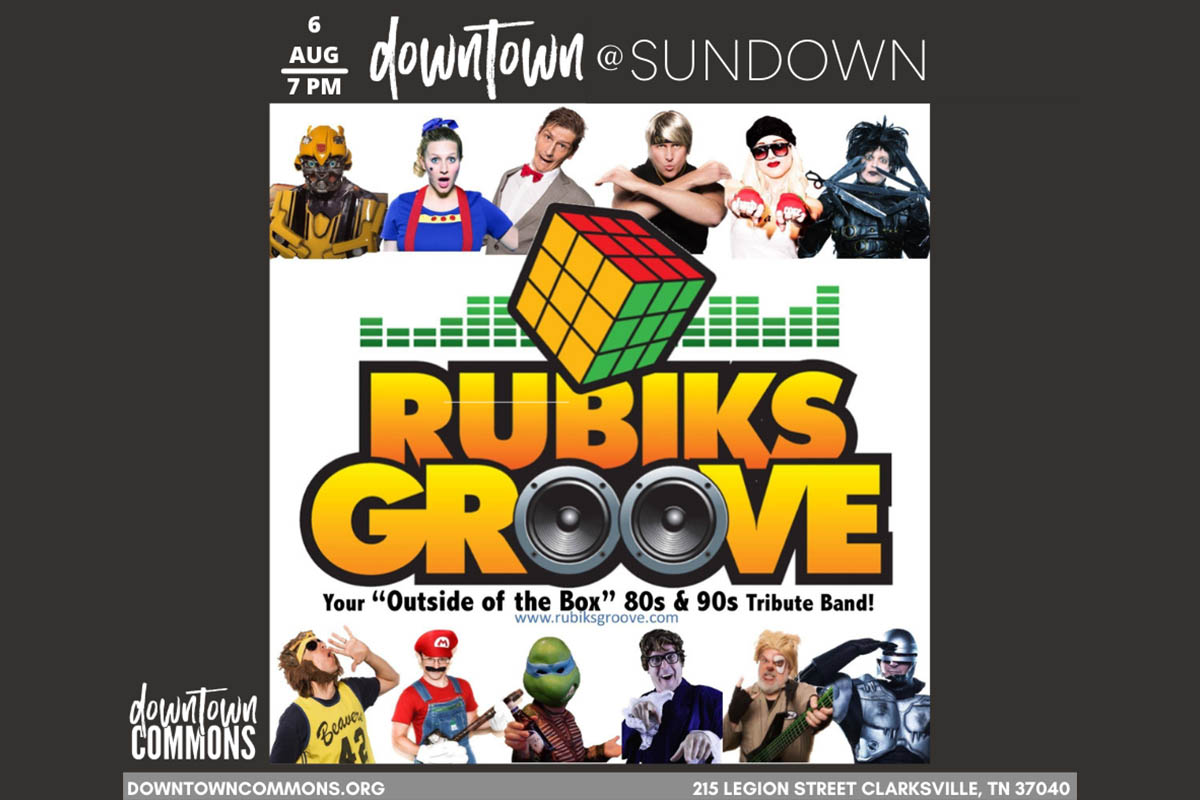 Rubik's Grove to play at Downtown @ Sundown on Friday at Downtown Commons
