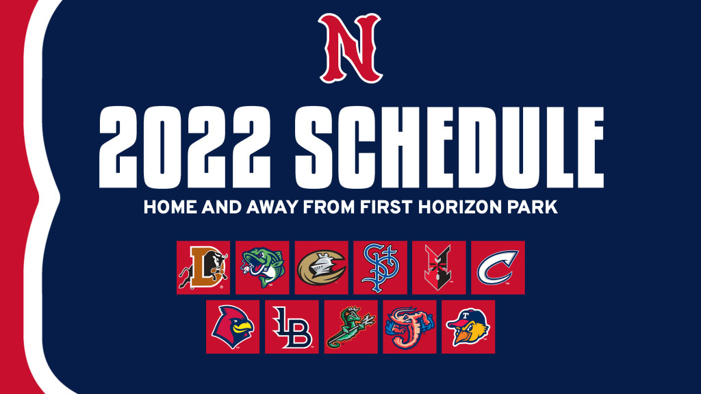 Nashville Sounds to Host Atlanta Braves, Arizona Cardinals and Cincinnati Reds Affiliates at First Horizon Park. (Nashville Sounds)