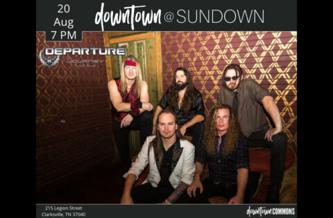 The Journey Tribute Band: Departure to play Downtown @ Sundown