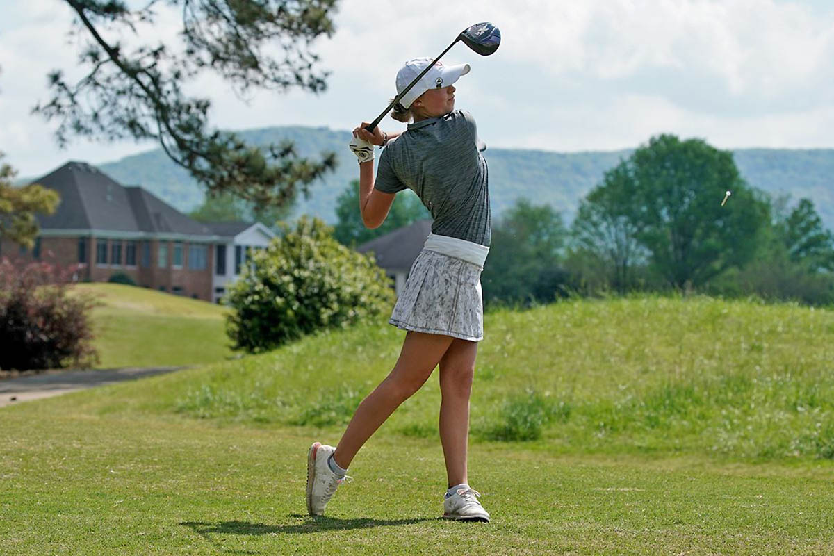 Austin Peay State University Women's Golf moves up in Round Two of Payne Stewart Memorial. (APSU Sports Information)