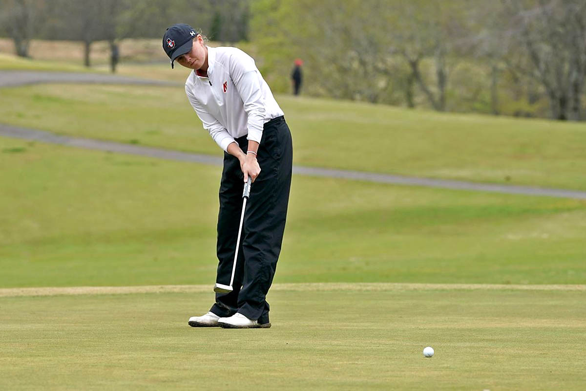 Austin Peay State University Women's Golf redshirt junior Taylor Dedmen finishes strong at Payne Stewart Memorial. (APSU Sports Information)