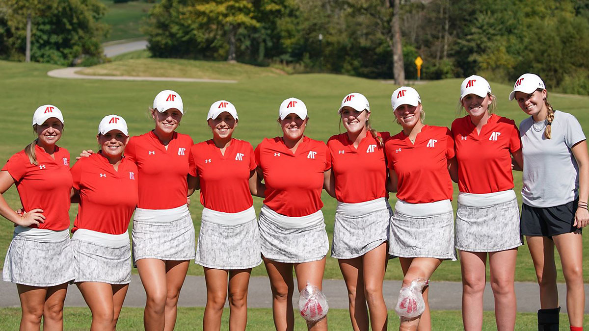 Austin Peay State University Women's Golf team notches fourth-place spot in home tournament. (APSU Sports Information)