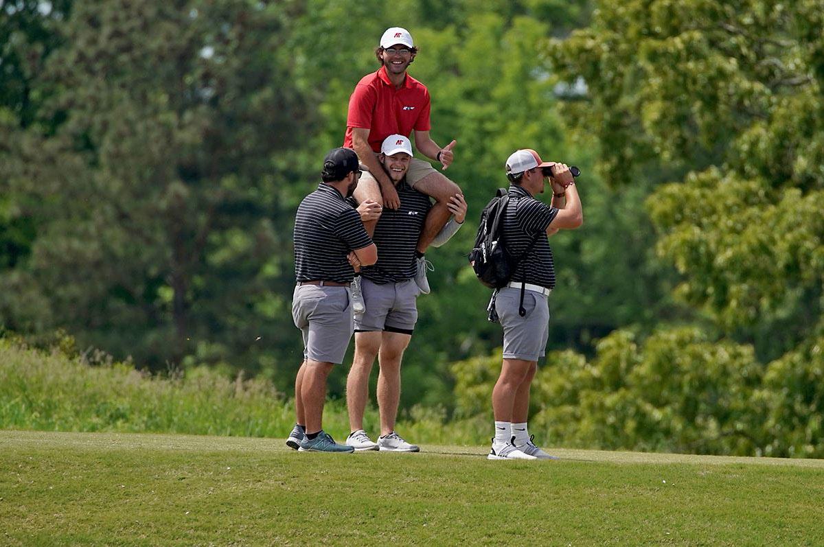 Austin Peay State University Men's Golf team comes in Fourth at Derek Dolenc Invitational. (APSU Sports Information)
