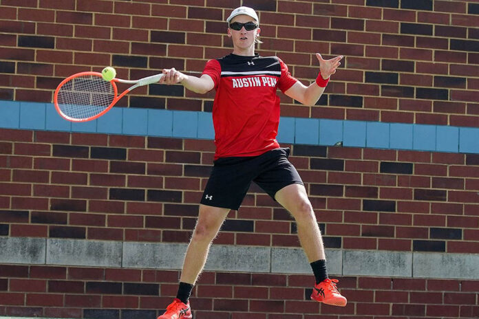 Austin Peay State University Men's Tennis travels to Knoxville for ITA Ohio Valley Regionals. (APSU Sports Information)