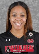 2021-22 APSU Volleyball – Kaylah Jackson. (Robert Smith, APSU Sports Information)