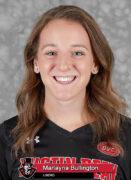 2021-22 APSU Volleyball - Marlayna Bullington. (Robert Smith, APSU Sports Information)