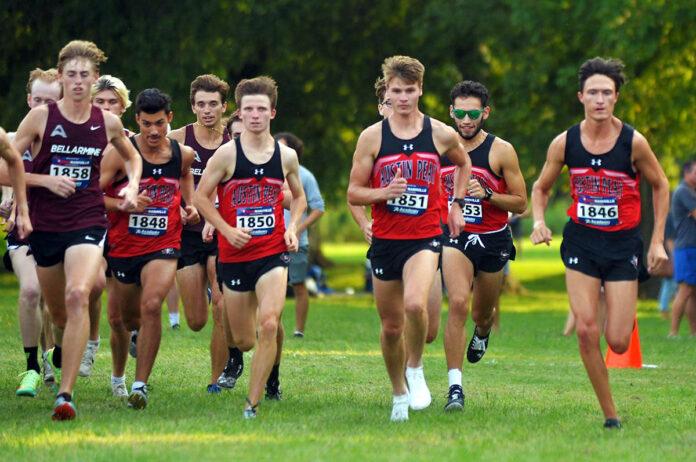Austin Peay State University Men's Cross Country opened season at Belmont Opener. (APSU Sports Information)