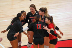 Austin Peay State University Women's Volleyball plays SIU Edwardsville Friday and Saturday at the Dunn Center. (Robert Smith, APSU Sports Information)