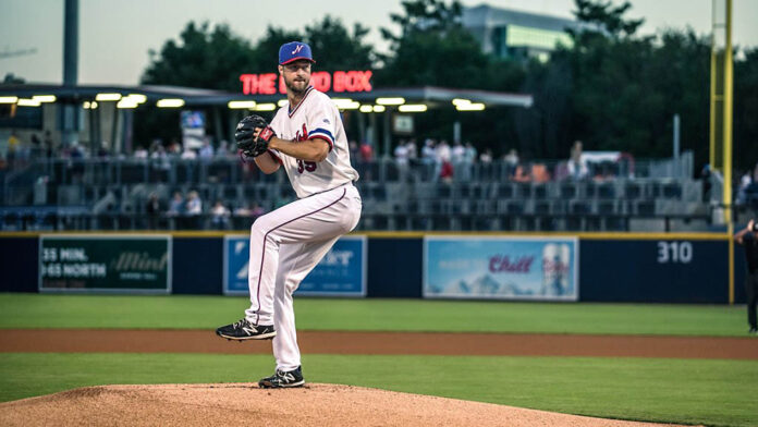 Nashville Sounds Right-Hander Colin Rea Tosses Six Shutout Innings in Sixth Straight Home Win. (Nashville Sounds)