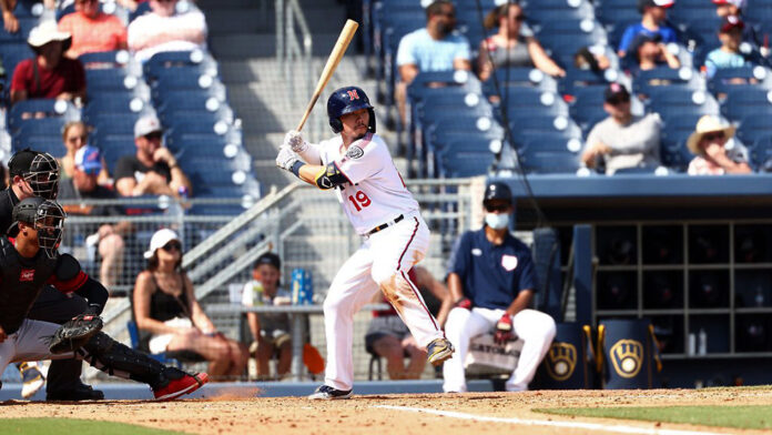 Nashville Sounds Score Seven Runs in Pivotal Fifth Inning for 9-2 win over Columbus Clippers at First Horizon Park Saturday night. (Nashville Sounds)