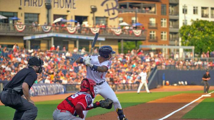 Nashville Sounds Shutout by Louisville Bats in Game Two. (Nashville Sounds)