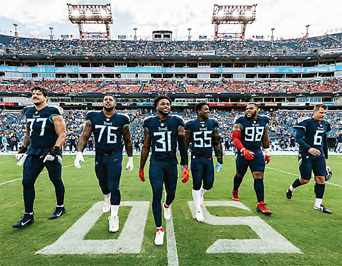 Tennessee Titans open Regular Season hosting Arizona Cardinals. (Tennessee Titans)