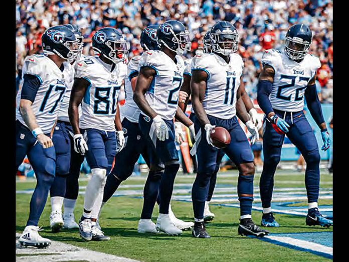 Tennessee Titans will look to regroup after Week 1 loss. (Tennessee Titans)