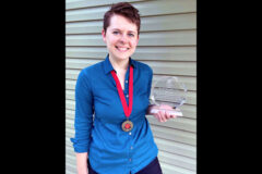 Austin Peay State University Harvill-Civitan Citizenship Award Winner Sara Grey. (APSU)