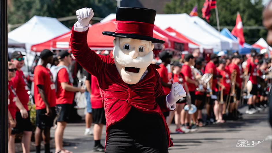 Austin Peay State University Game Week includes tailgating, vendors, etc. (APSU Sports Information)