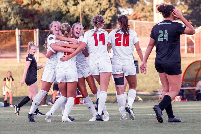 Austin Peay State University Women's Soccer plays to a draw at North Dakota. (Eric Elliot, APSU Sports Information)