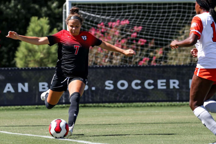 Austin Peay State University Women's Soccer travels to Music City for Thursday-night match at Belmont. (Eric Elliot, APSU Sports Information)