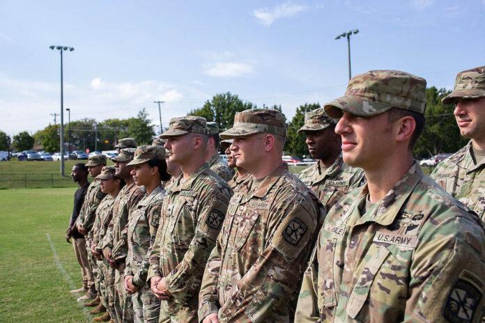 Austin Peay State University Army ROTC. (APSU)