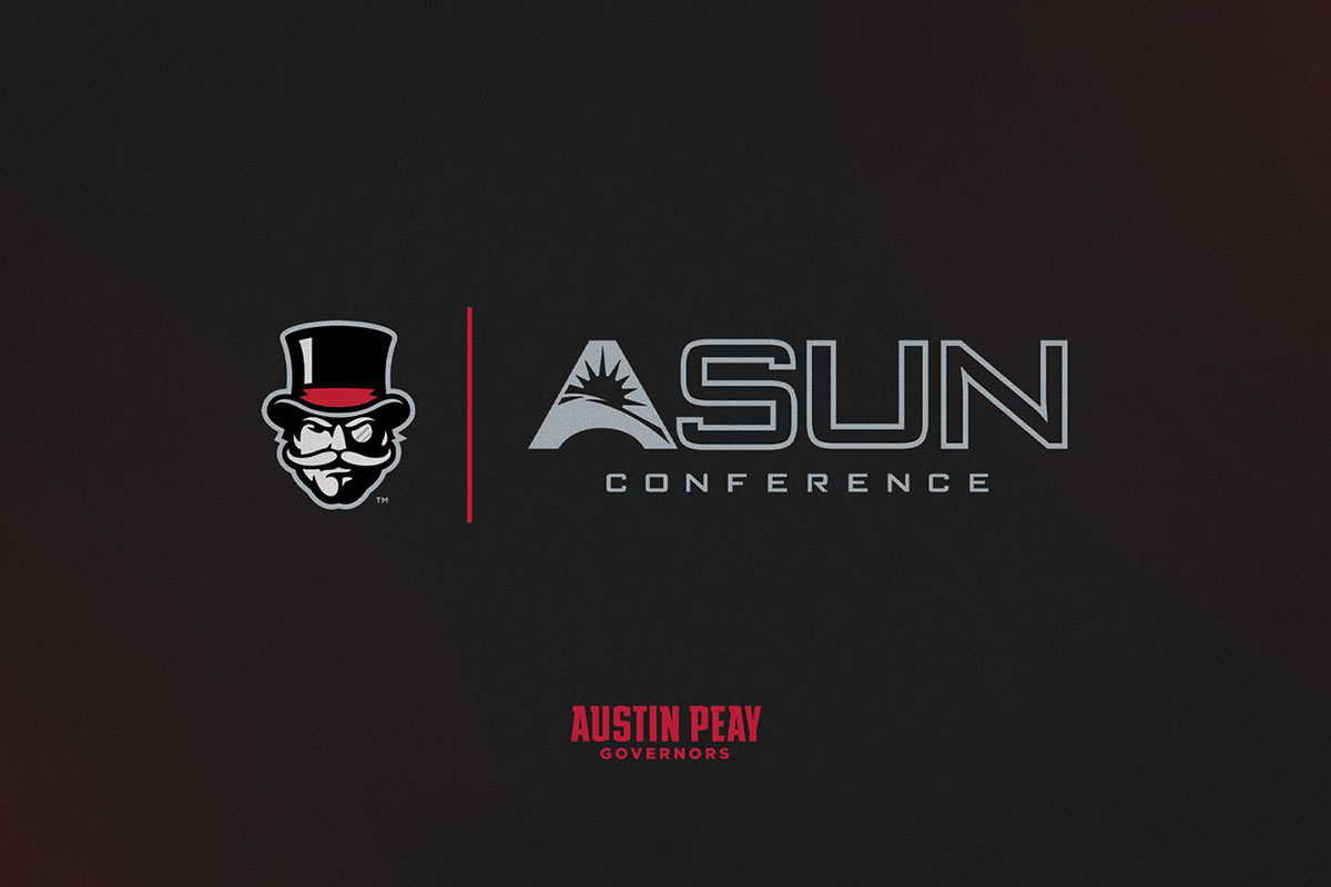 Austin Peay State University Athletics to make the move to the ASUN Conference beginning with the 2022-23 season. (APSU Sports Information)