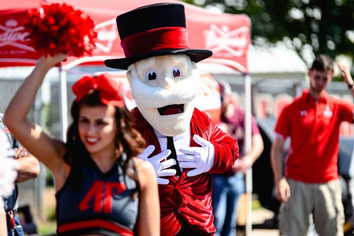 Austin Peay State University unveils Fan Experience for opening day at Fortera Stadium. (APSU Sports Information)
