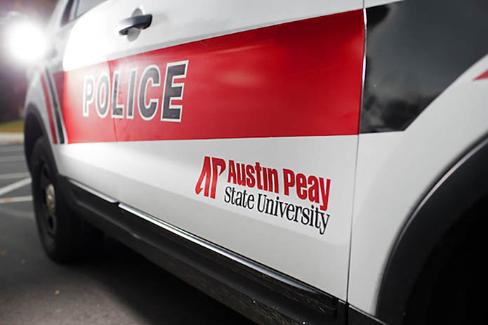 Austin Peay State Universty Campus Police takes first place at Tennessee Highway Safety Office's 2021 Law Enforcement Challenge in the Univesity Police Category. (APSU)