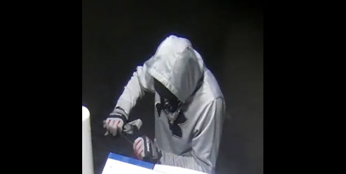 Clarksville Police have releases this photo of the Cumberland Electric Membership Corp drive Burglary Suspect.