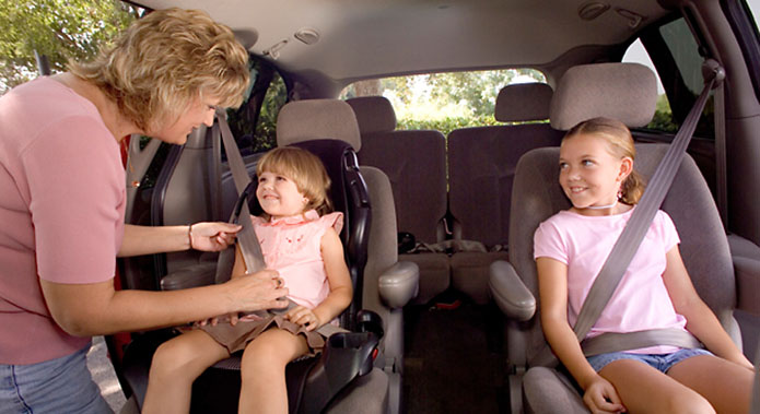 National Child Passenger Safety Week is September 19th-25th. (AAA)