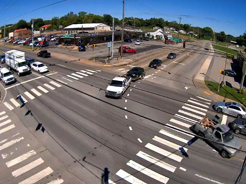 City of Clarksville Street camera off Providence Boulevard and Peachers Mill Road.