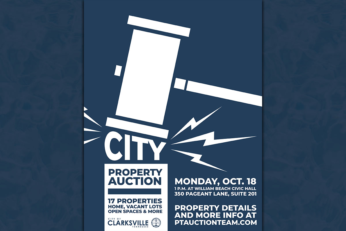 City of Clarksville to Auction off 17 Properties