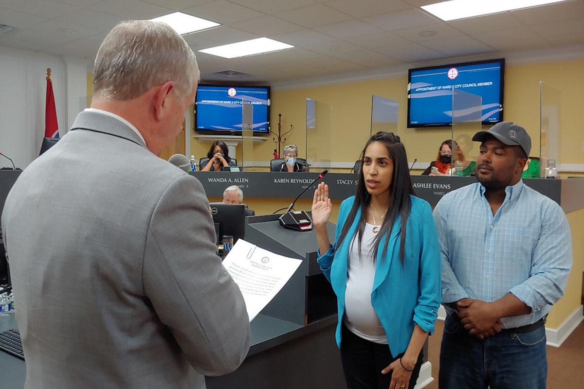 Clarksville City Councilperson Ambar Marquis