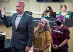 Clarksville City Councilperson for Ward 1 Brian Zacharias