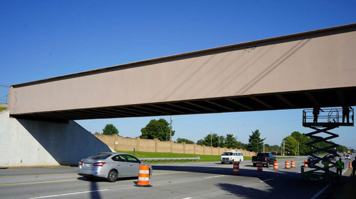 Fort Campbell Bridge on Day 1, side 2.