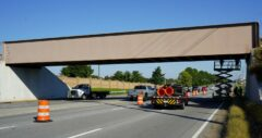 Fort Campbell Bridge on Day 1, side 1.