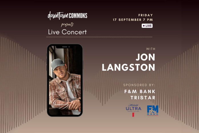 Downtown @ Sundown presents Jon Langston in Concert this Friday at Downtown Commons.