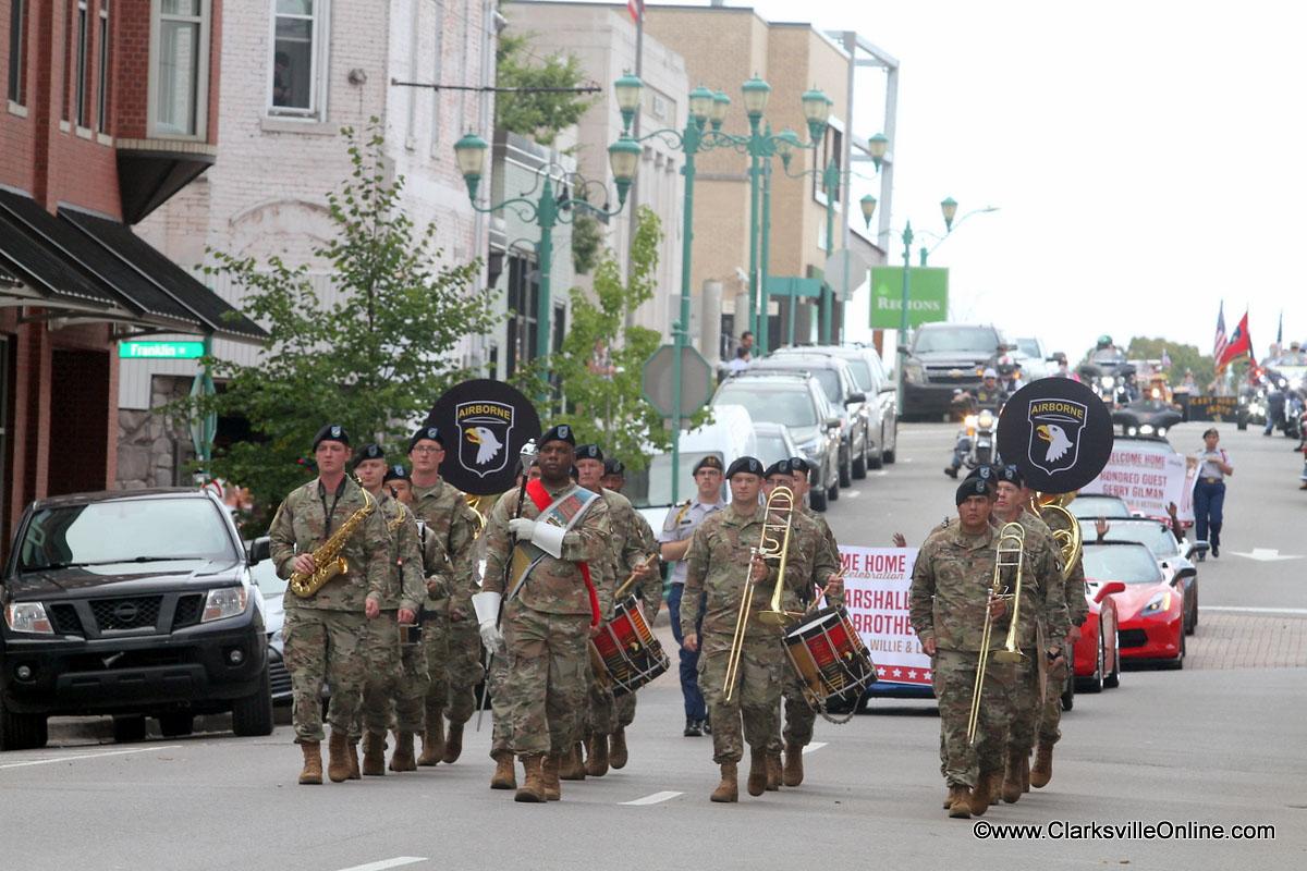Welcome Home Veterans Celebration Parade