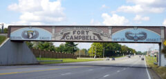 Finished Bridge to Fort Campbell